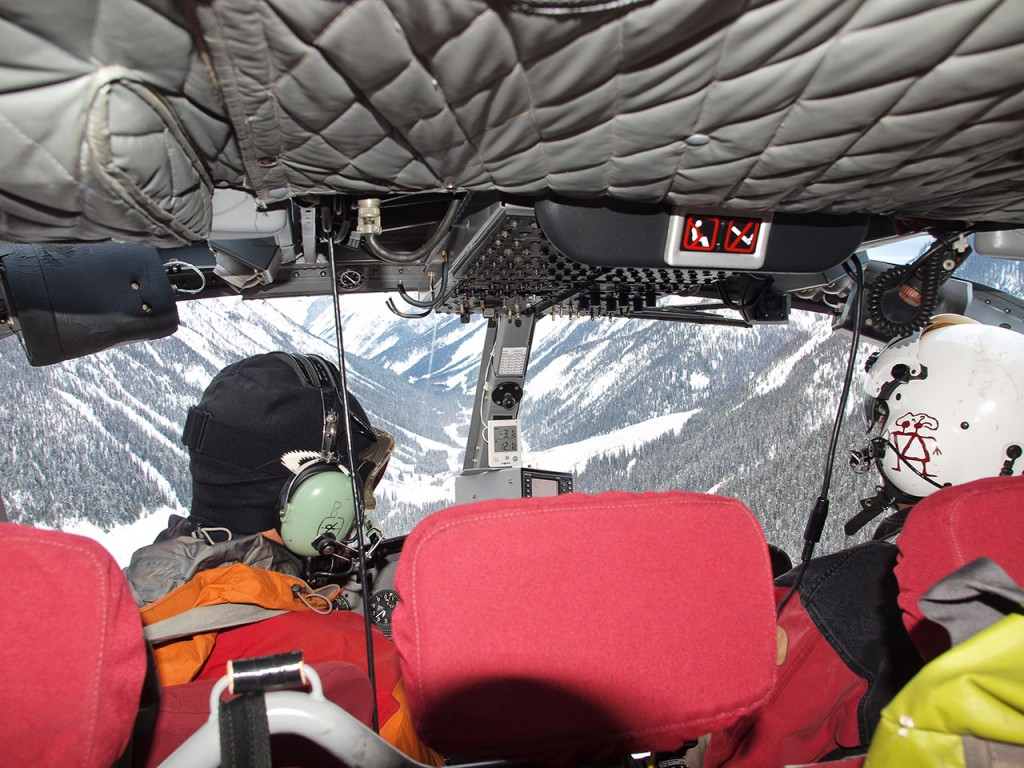In The Helicopter (photo credit: Todd Leeds)