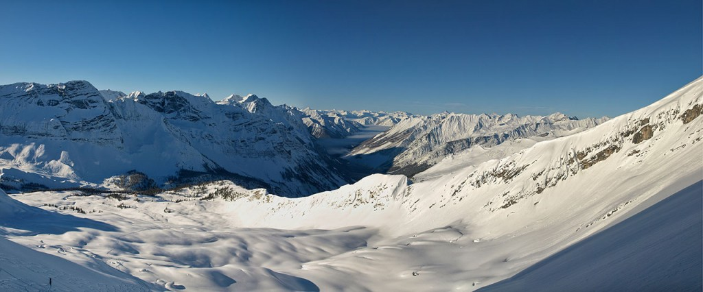 Looking West From High Col, Paradise Bowl In The Foreground (photo credit: Todd Leeds)