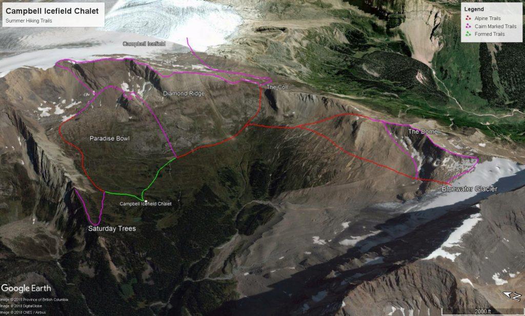 CIC Hiking Trails